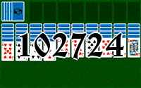 Solitaire №102724