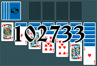 Solitaire №102733