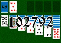 Solitaire №102792
