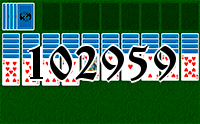 Solitaire №102959