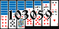 Solitaire №103059