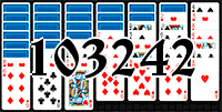 Solitaire №103242