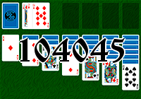 Solitaire №104045