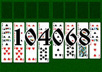 Solitaire №104068