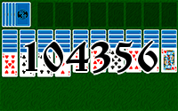 Solitaire №104356