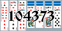 Solitaire №104373