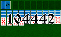Solitaire №104442
