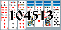 Solitaire №104513