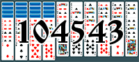Solitaire №104543