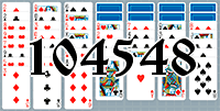 Solitaire №104548
