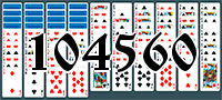 Solitaire №104560