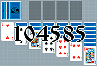 Solitaire №104585