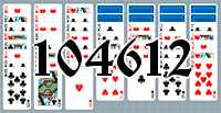 Solitaire №104612