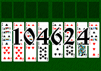 Solitaire №104624