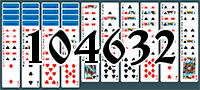 Solitaire №104632