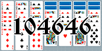 Solitaire №104646