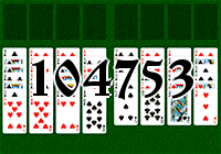 Solitaire №104753
