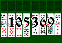 Solitaire №105369