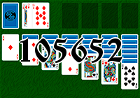 Solitaire №105652