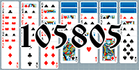 Solitaire №105805