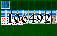 Solitaire №106492