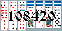 Solitaire №108420