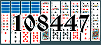 Solitaire №108447