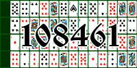 Solitaire №108461