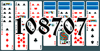 Solitaire №108707