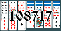 Solitaire №108717