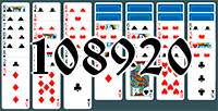 Solitaire №108920