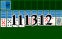 Solitaire №111312