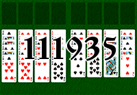 Solitaire №111935