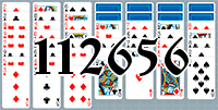 Solitaire №112656