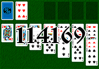 Solitaire №114169