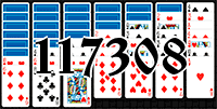 Solitaire №117308