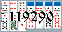 Solitaire №119290