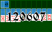 Solitaire №120607