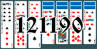 Solitaire №121190