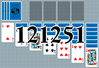 Solitaire №121251