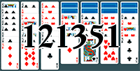 Solitaire №121351
