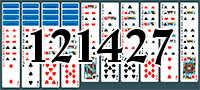 Solitaire №121427