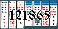 Solitaire №121865