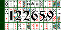 Solitaire №122659