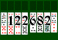 Solitaire №122682