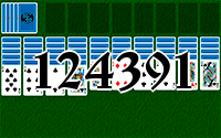 Solitaire №124391
