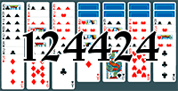 Solitaire №124424