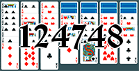 Solitaire №124748