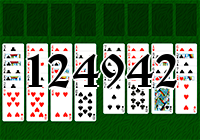 Solitaire №124942