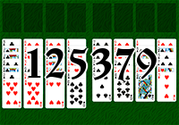Solitaire №125379